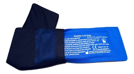 kooley cold strip with headband for headaches and migraine pain relief