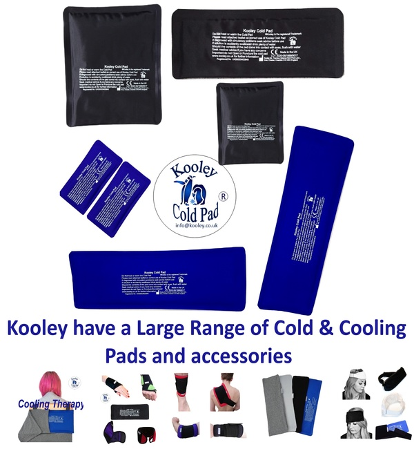 kooley wrist with cold pad